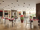 The Hub Restaurant at Ramada Encore Doha